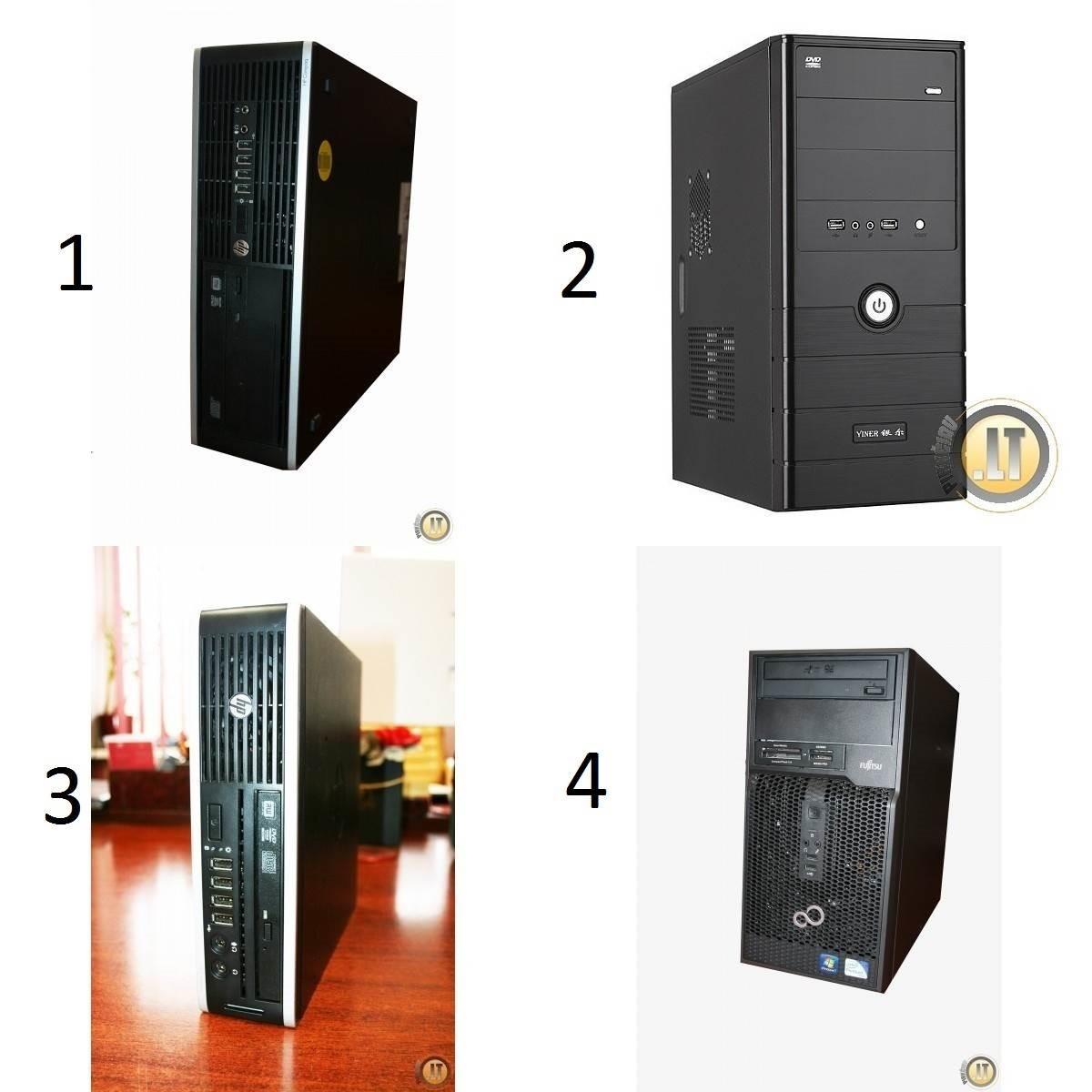 Nauji ir naudoti stacionarūs kompiuteriai