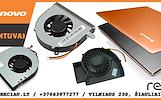 Nešiojamo kompiuterio / laptopo ventiliatorius, aušintuvas, aušinimo sistema, dulkių valymas
