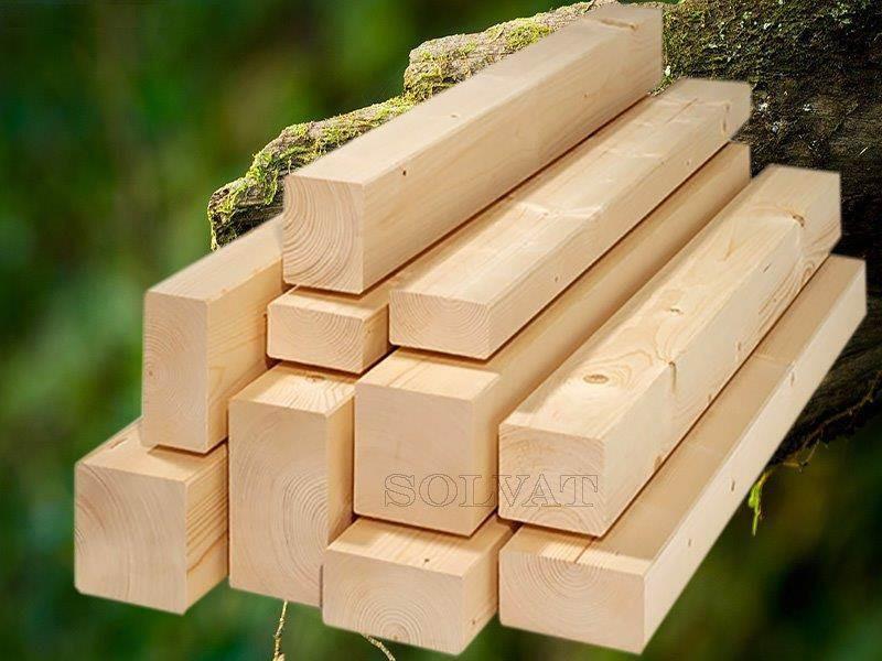 Obliuota-kalibruota  šiaurinė mediena