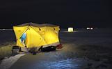 Palapinių nuoma žieminei žvejybai www.turistinesprekes.lt