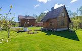 Parduodamas gyvenamasis namas su pirties pastatu Pievų g., Švenčionyse.