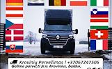 Parodų įrangos pervežimas LIETUVA - EUROPA - LIETUVA +37067247506 EUROPA - LIETUVA Tarptautiniai perkraustymai nuo durų iki durų Europoje ir visame p