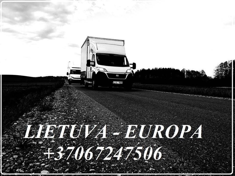 Perkraustymai gyventojų, įmonių LIETUVA/EUROPA/LIETUVA +37067247506 Baldų pervežimai  LIETUVA/EUROPA/LIETUVA +37067247506 EL.PAŠTAS: info@voris.lt SKY