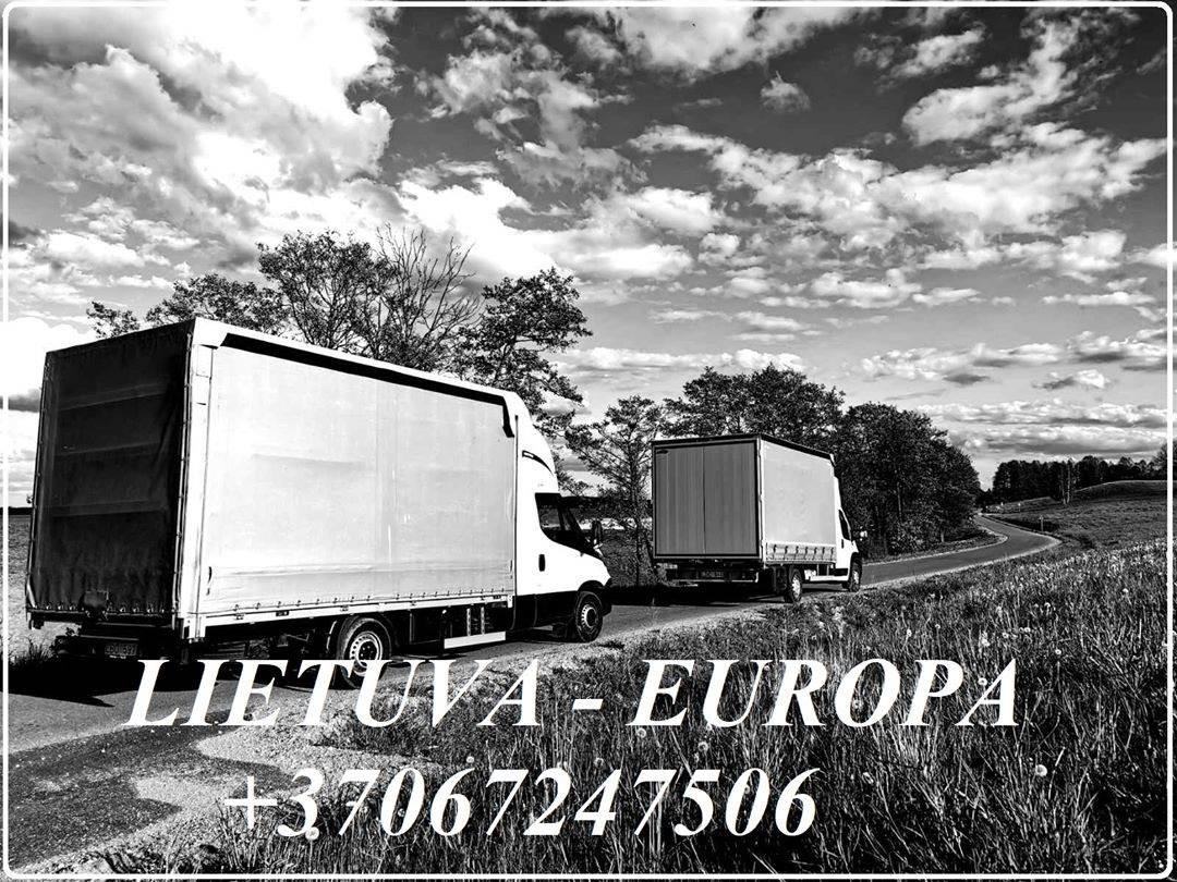 PERKRAUSTYMAI LIETUVA - EUROPA - LIETUVA. Jūsų asmeninius krovinius nuo durų iki durų pervesime +37067247506  EKSPRES KROVINIU PERVEZIMAI +37067247506