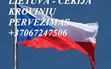Perkraustymas į ČEKIJĄ ! Perkraustymas iš Čekijos !