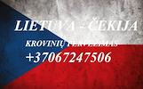 Perkraustymas į/iš Čekijos!