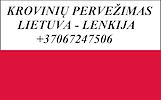 Perkraustymas į/iš Lenkijos!