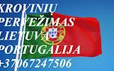 Perkraustymas į/iš PORTUGALIJA!