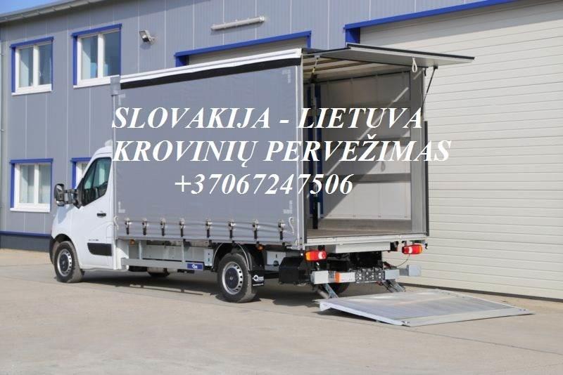 Perkraustymas į/iš Slovakijos!