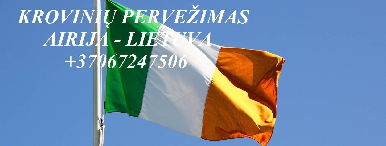 Perkraustymo paslaugos AIRIJA-Lietuva-AIRIJA LT-IRL-LT Į / IŠ Airijos / Lietuvos  PASTOVIAI GABENAME pagal individualius užsakymus fiziniams asmeniams
