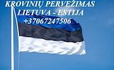 Perkraustymo paslaugos ESTIJA-Lietuva-ESTIJA  LT-EE-LT
