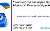Perkraustymo paslaugos Kaune ir Vilniuje