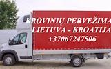 Perkraustymo paslaugos KROATIJA-Lietuva-KROATIJA