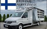 Perkraustymo Paslaugos - Krovinių Pervežimas SUOMIJA / FINLAND / SUOMIJOS / SUOMIJĄ  Greitai ir patikimai vežame įvairius krovinius iš/į Lietuvos / SU
