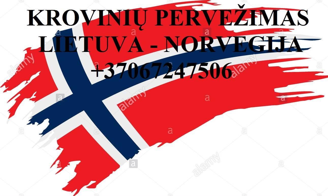 Perkraustymo paslaugos NORVEGIJA-Lietuva-NORVEGIJA