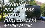 Perkraustymo paslaugos PORTUGALIJA-Lietuva-PORTUGALIJA  LT-PT-LT