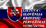 Perkraustymo paslaugos Slovėnija-Lietuva-Slovėnija LT-SL-LT