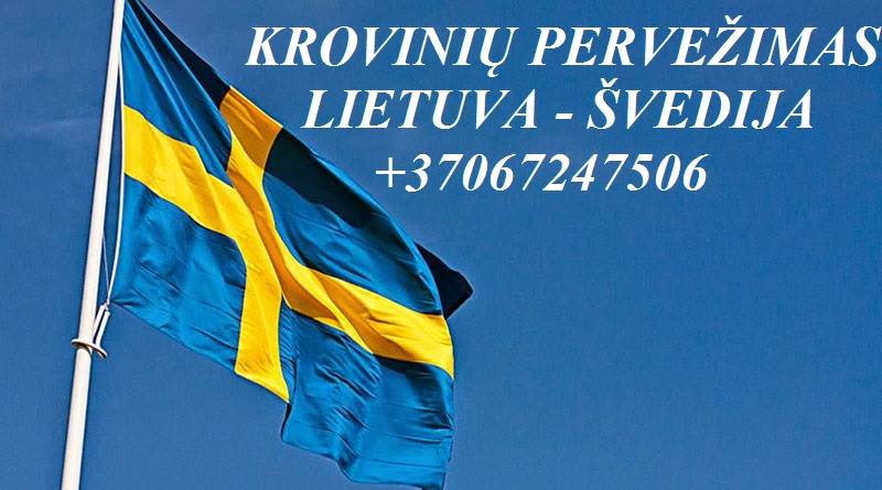 Perkraustymo paslaugos Švedija-Lietuva-Svedija