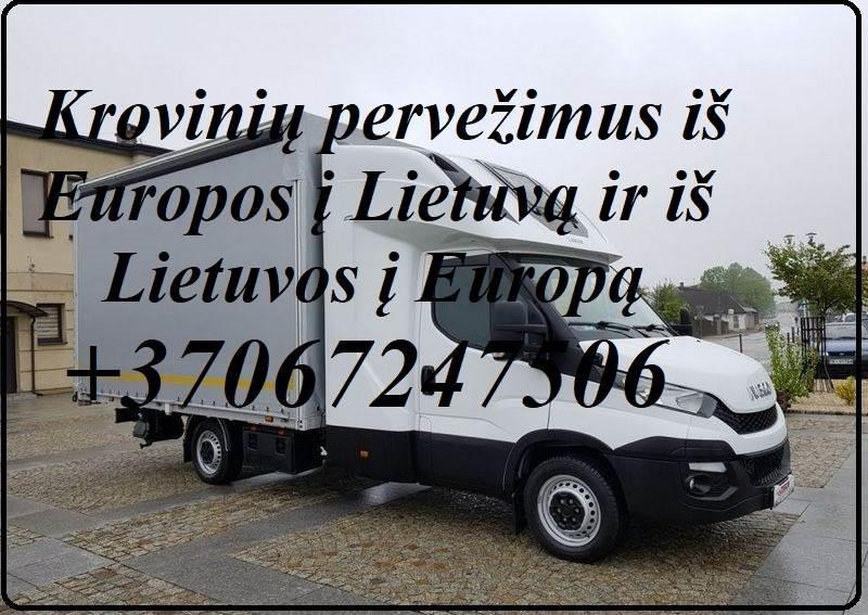 Pervežimai įrangos ir invetoriaus į parodas   LIETUVA - EUROPA - LIETUVA (Berlynas, Liuksemburgas, Viena, Monakas, Briuselis, Amsterdamas, Oslas, Sofi