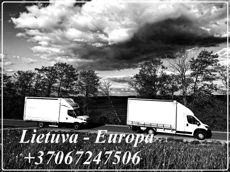 Pervežimas, transportavimas, perkraustymas, sandėliavimas Lietuva - Europa - Lietuva +37067247506 EKSPRES KROVINIU PERVEZIMAI +37067247506 Ekspres per