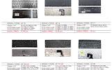 PIGIAUSIAI. HP nešiojamų kompiuterių kliaviatūros nuo 7 eurų