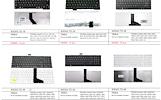 PIGIAUSIAI. TOSHIBA nešiojamų kompiuterių kliaviatūros nuo 11 eurų