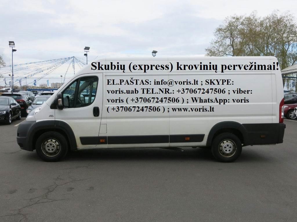 Pilnų ir dalinių krovinių pervežimas / krovinių gabenimas! Vežame nuo 50 kg. iki 24 tonų . Negabaratiniai kroviniai / pilni kroviniai. Kaunas - Vilniu