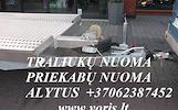 PLATFORMOS NUOMA ! PLATFORMOS MATMENYS: ILGIS 4.50m PLOTIS 2.10m. Keliamoji galia 2300kg ( Patogu vežti lentas, kubilus, metalo gaminius, traktoriukus