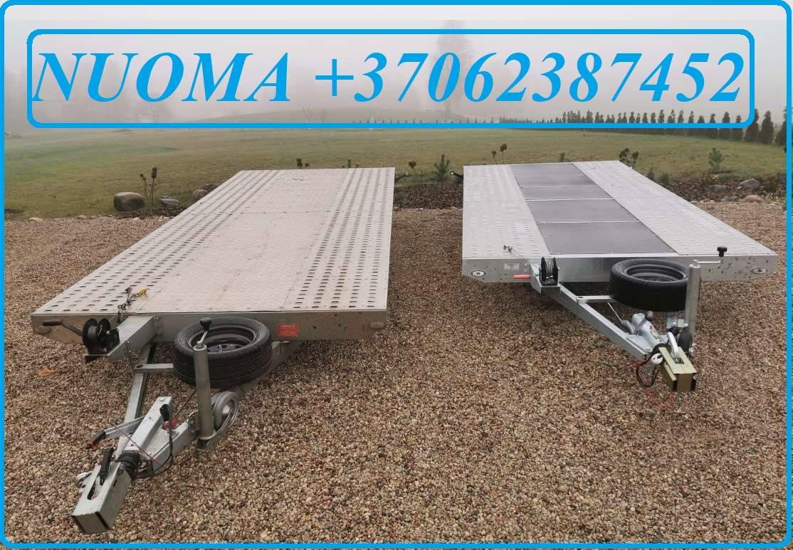 PLATFORMOS, PLATFORMŲ NUOMA ALYTUS 862387452 PRIEKABŲ / PLATFORMŲ / Tralai/ Paverčiamu priekabų nuoma/ Tralo/ MOTO PRIEKABU / Tralu /Platformos/Traliu
