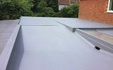 Plokščių stogų dengimas   hidroizoliavimas   Šiltinimas į oro tarpą