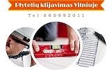 Plyteliu klijavimas Vilniuje