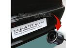 Pmc-190 Parkavimo Sistema Veidrodyje  + Kamera + 4 davikliai