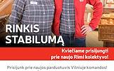 Rinkis darbą naujoje Rimi parduotuvėje Vilniuje!