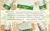 SANTEGRA – maisto papildai sanariams, kaulams, dantims, dantenoms, raumenims, raiščių ir kremzlių funkcijai