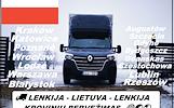 SIANDIEN ---- RYTOJ ----- Kiekvieną savaitę iš Lenkijos į Lietuvą. KROVINIŲ PERVEŽIMAS / GABENIMAS / PERKRAUSTYMAS Lietuva -- Lenkija -- Lietuva Galim