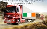 Skubių krovinių/siuntų gabenimas transportu į/iš Airijos/ Airiją.