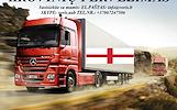 Skubių krovinių/siuntų gabenimas transportu į/iš Anglijos / Angliją.