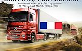 Skubių krovinių/siuntų gabenimas transportu į/iš Prancūzijos/ Prancūziją.