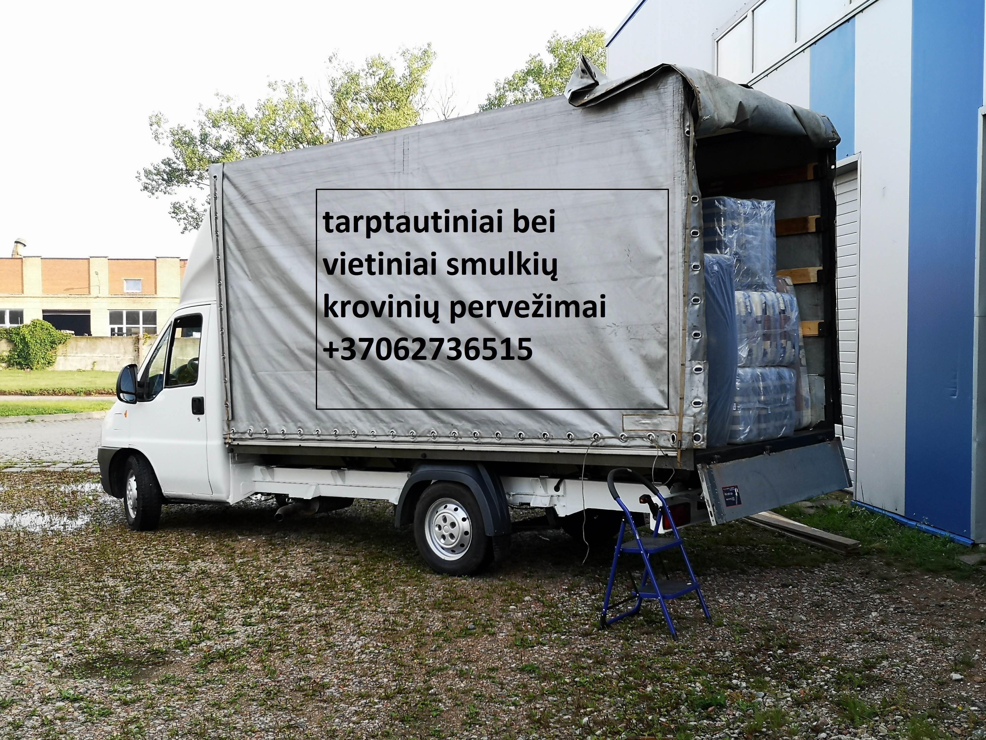 Skubus krovinių pervežimas Lietuva - Latvija - Lietuva
