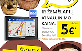 """TAIP PIGIAI, ar matei??? Ištark kodą """"BLYNAI"""" ir žemėlapių naujinimas bus tik už 5 Eur!"""