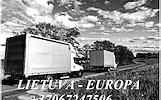 Tarptautiniai krovinių pervežimai, kuriuos vykdo patyrę logistikos ekspertai Lietuva - Europa - Lietuva +37067247506 Perkraustymo paslaugos verslui L