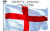 Tarptautiniai perkraustymai Lietuva-ANGLIJA-Lietuva.