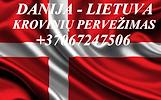 Tarptautiniai perkraustymai Lietuva-DANIJA-Lietuva. LT-DK-LT