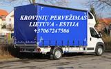 Tarptautiniai perkraustymai Lietuva-ESTIJA-Lietuva.