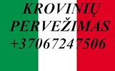 Tarptautiniai perkraustymai Lietuva-ITALIJA-Lietuva. LT-IT-LT / IT-LT-IT. PRIEINAMOMIS KAINOMIS. Vežame su krovininiais mikroautobusais kietašoniais g