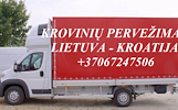 Tarptautiniai perkraustymai Lietuva-KROATIJA-Lietuva. LT-HR-LT
