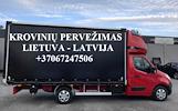 Tarptautiniai perkraustymai Lietuva-LATVIJA-Lietuva