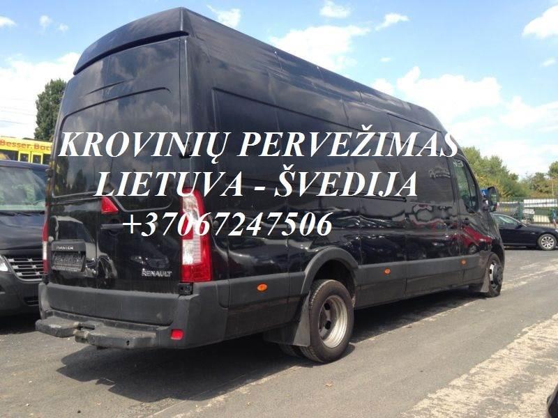 Tarptautiniai perkraustymai Lietuva-Švedija-Lietuva.