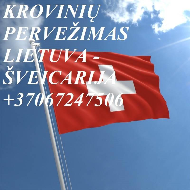 Tarptautiniai perkraustymai Lietuva-ŠVEICARIJA-Lietuva