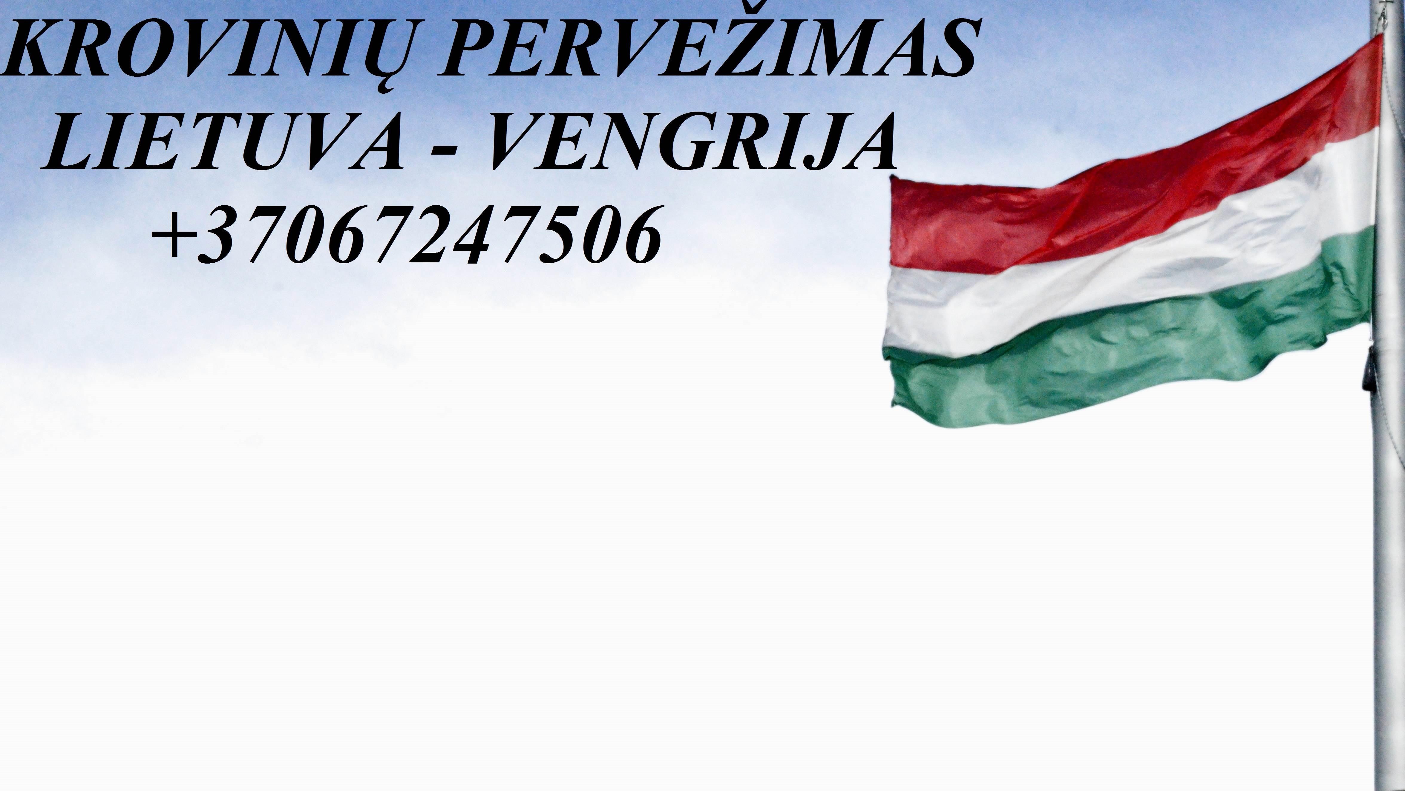 Tarptautiniai perkraustymai Lietuva-VENGRIJA-Lietuva